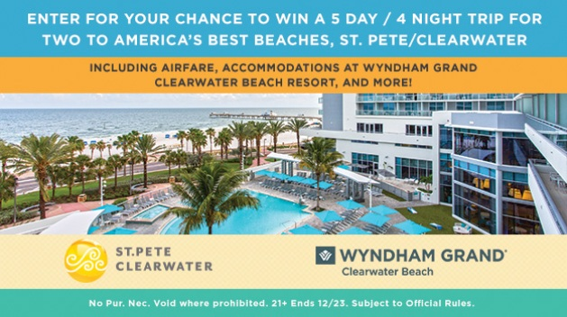 Visit St. Pete/Clearwater Sweepstakes