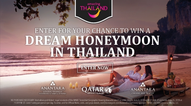 Thailand Honeymoon Sweepstakes