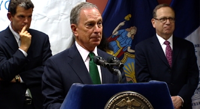 [NY] Video: Don't Ask Bloomberg About Term Limits