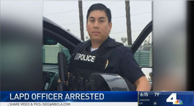 LAPD Officer Arrested For Having Sex With Teen Cadet