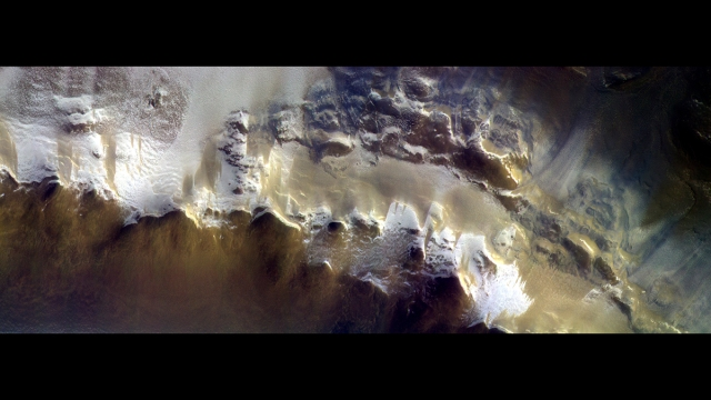 European Space Agency Releases 1st Image From Mars Orbiter