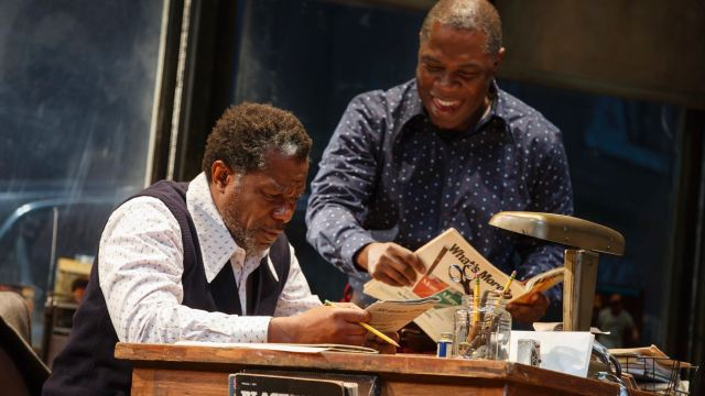 'Fences' on Screen and, now, an Artful 'Jitney' on Broadway