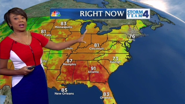 Janice Huff gives her forecast for May 30, 2016