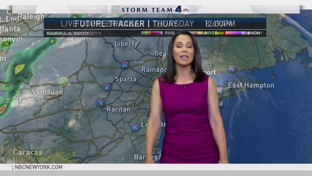 Erica Grow's forecast for August 25th.