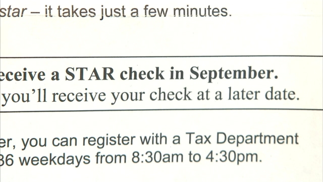 NYS STAR Tax Relief Checks