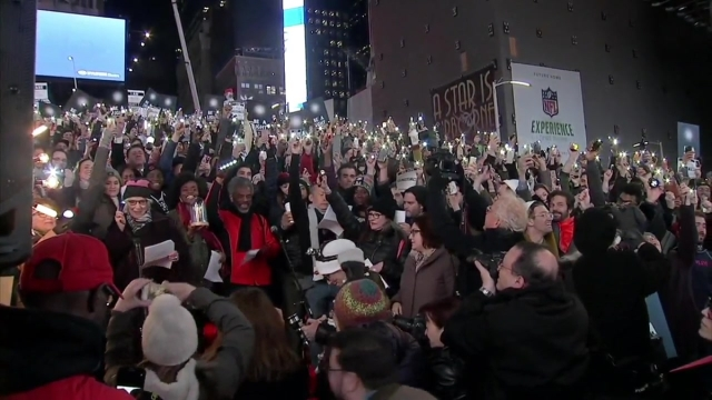 Broadway Stars Showcase 'Ghostlight Project' at Times Square