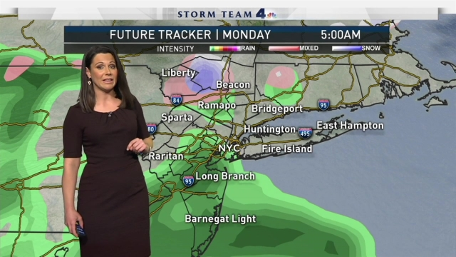 Erica Grow tells us what's in store for the nor'easter headed toward the tri-state.