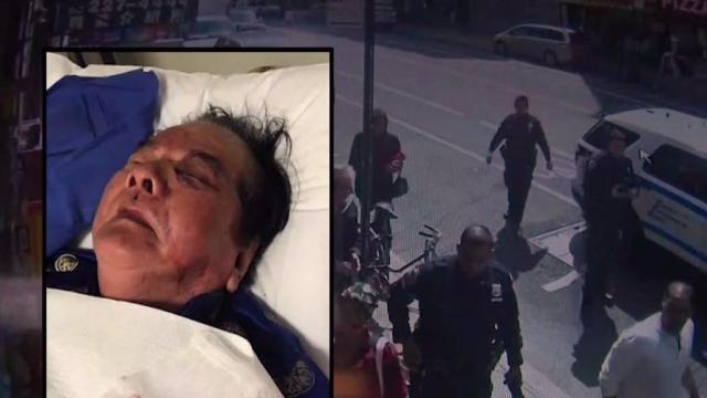 Great Granddad Randomly Attacked Outside Fave NYC Deli