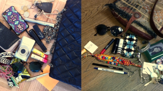 Purse Purge: Dannijo Sisters Pack Matchbooks, Eyelash Curlers