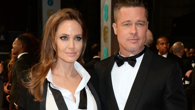 Jolie and Pitt to Present at Oscars