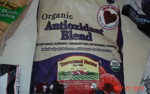 Townsend Farms Organic Antioxidant Blend may be linked to a hepatitis A outbreak, officials said Friday, May 31, 2013.