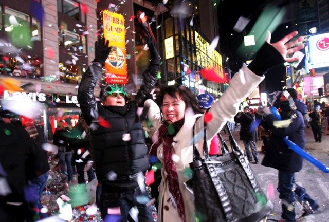 A Decade of New Year's Eve in Times Square