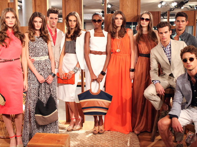 Banana Republic Heads To the Tropics For Spring 2012
