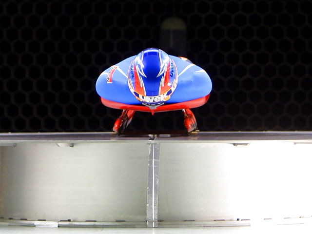 Luge Team Extreme Wind Tunnel Test
