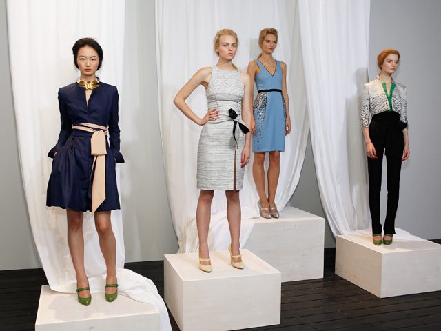 Wes Gordon Gives His Luxe Ladylike Sensibility A Downtown Spin