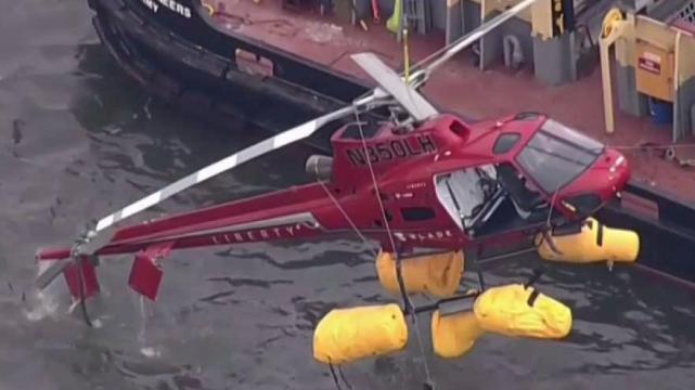 FAA Curbs Doors Off Flights After NYC Chopper Crash