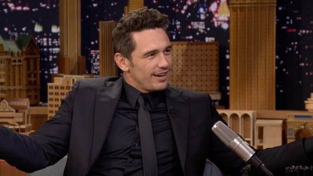 'Tonight': James Franco Does His Impression of Tommy Wiseau