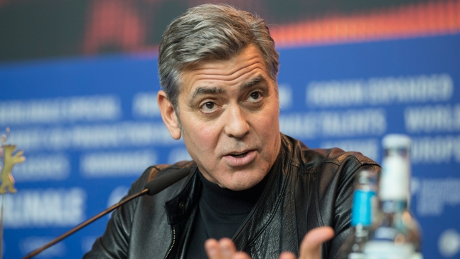 Clooney Hopes to Meet Merkel to Discuss Refugees