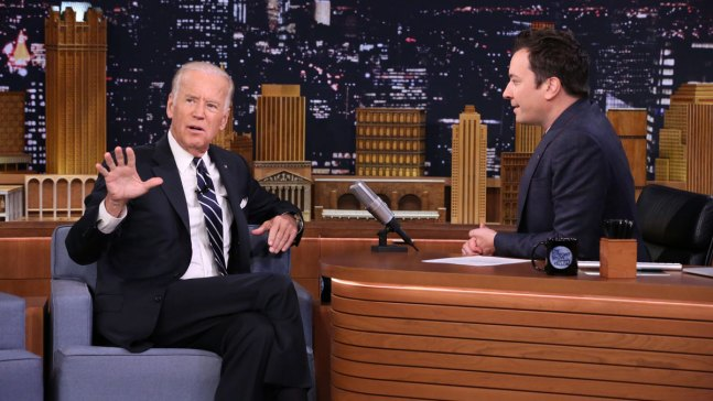 Biden on 'Tonight Show': Trump Lacks 'Sensibilities'