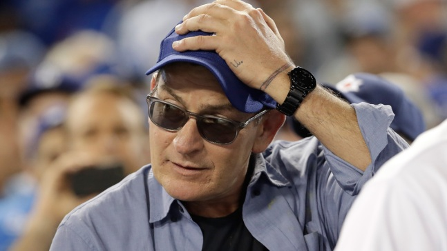 Sheen's 'Wild Thing' Will Not Make Pitch in World Series