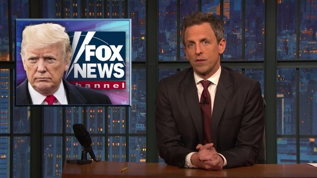 'Late Night': A Closer Look at Trump Standing by Saudis