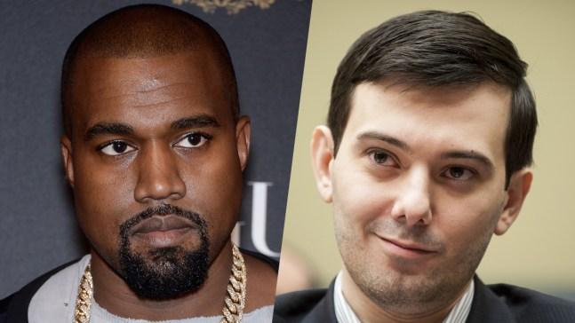 Martin Shkreli Tweets $10M Bid for New Kanye Album