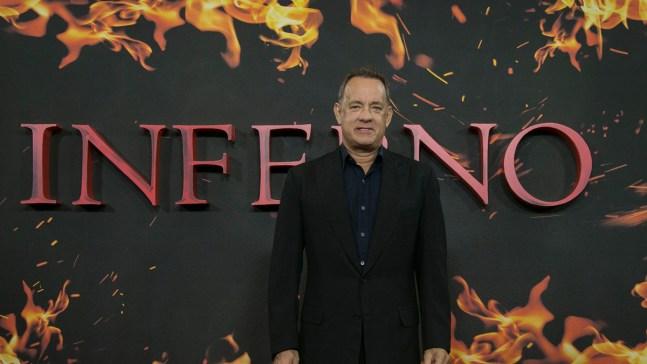 Tom Hanks Sees US Election Warning in Thriller 'Inferno'