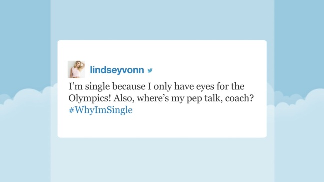 'Tonight' Hashtags: #WhyImSingle
