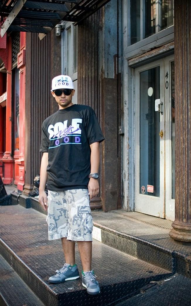 Street Scenes: Juan on Lispenard Street