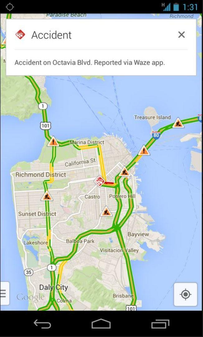 Google Map Of New York.Google Maps Integrates Waze Traffic Reports Nbc New York