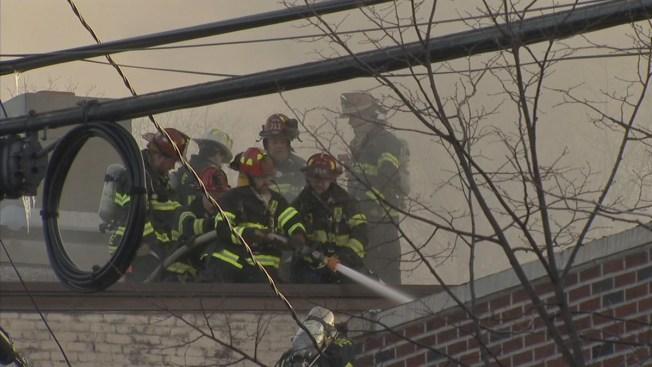 Smoky Blaze Wrecks NJ Deli