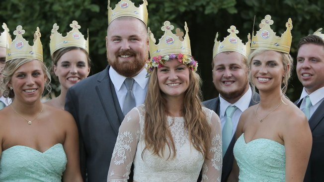 Wedding Whopper: Joel Burger, Ashley King Tie the Knot
