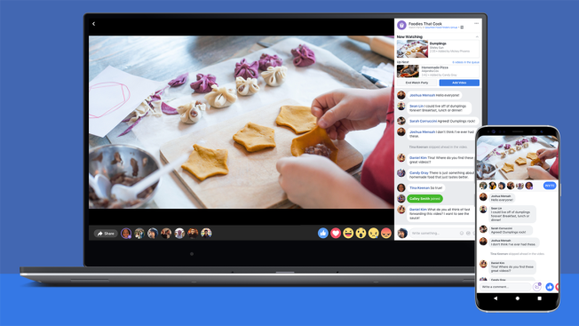 Facebook's Watch Party Feature Lets Users View, Interact With Videos Together