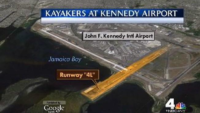 Kayakers Breach Security Perimeter at JFK
