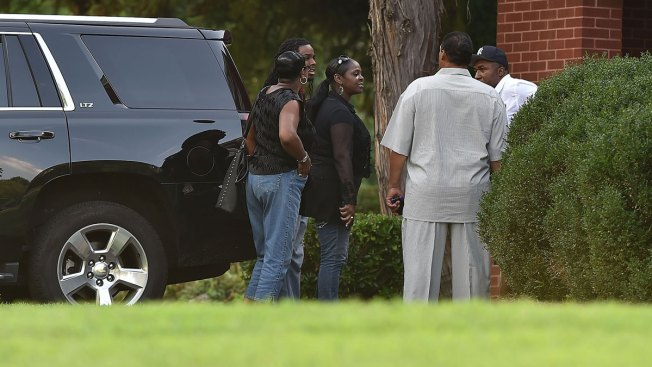 Bobbi Kristina Brown's Family Gathers at Wake