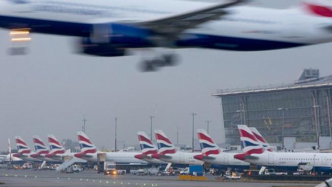 Drone Report Halts Departures at London's Heathrow Airport