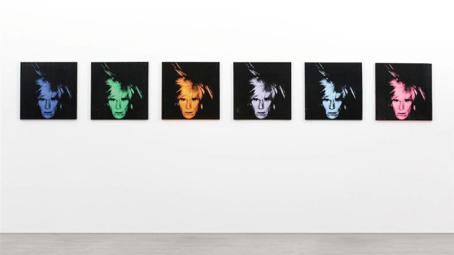 Andy Warhol Selfies Auctioned for $30.1M in New York