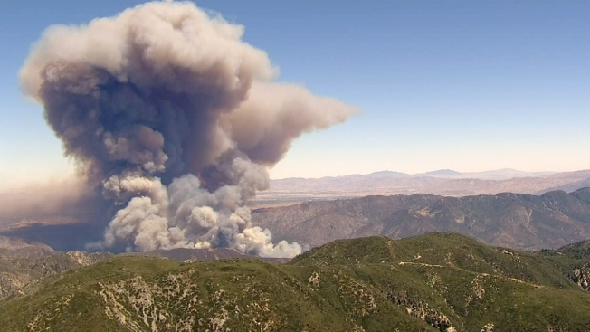 Evacuations Lifted in Southern California Blue Cut Wildfire