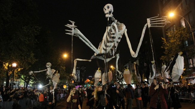 City to Close Streets Along Ghoulish Parade Routes