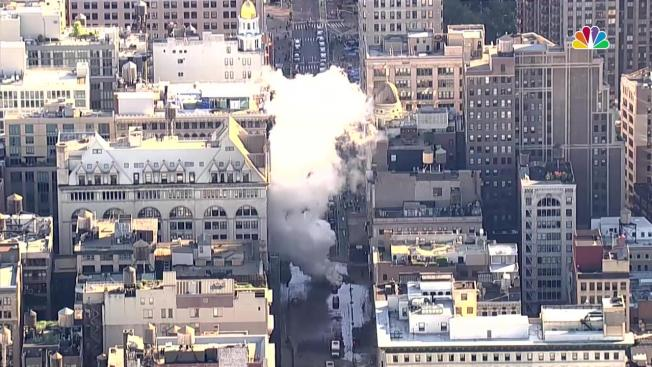 Steam Pipe Explodes In Bustling Flatiron District Leaving