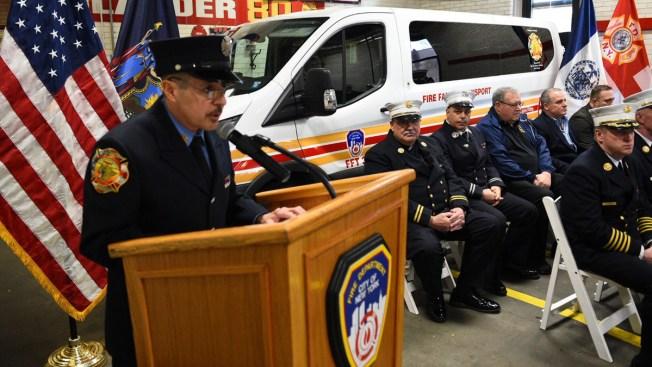 FDNY Vet, 9/11 Cancer Survivor Donates Van to Help Fellow Firefighters