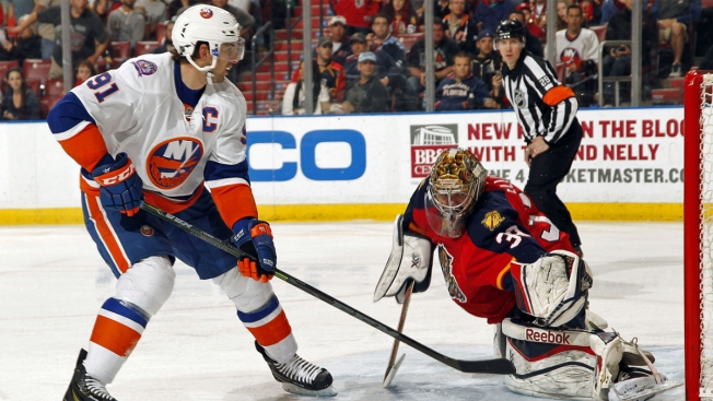 Islanders Fall Prey to Panthers in Shootout