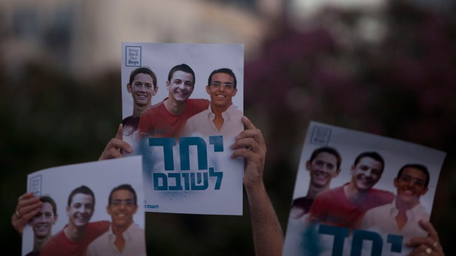 Bodies of 3 Abducted Israeli Teens Found