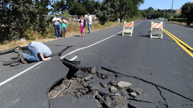 Geologists Compiling Data Near Napa Earthquake as Aftershocks Continue
