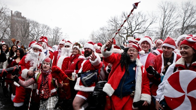 He Sees You When You're Drinking: SantaCon Booze Ban on Trains