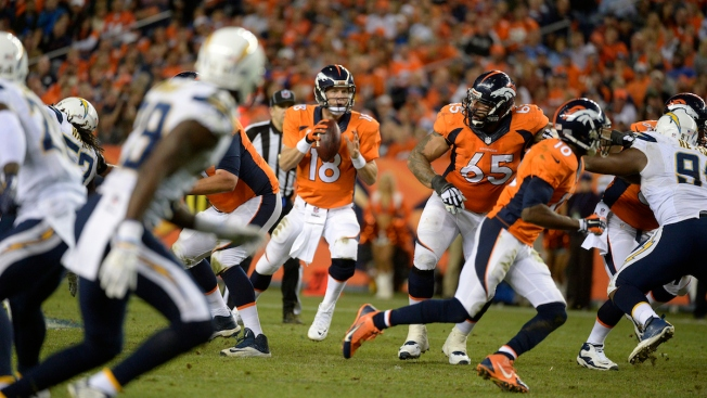 Peyton Manning and Emmanuel Sanders Lead Broncos Past Chargers 35-21