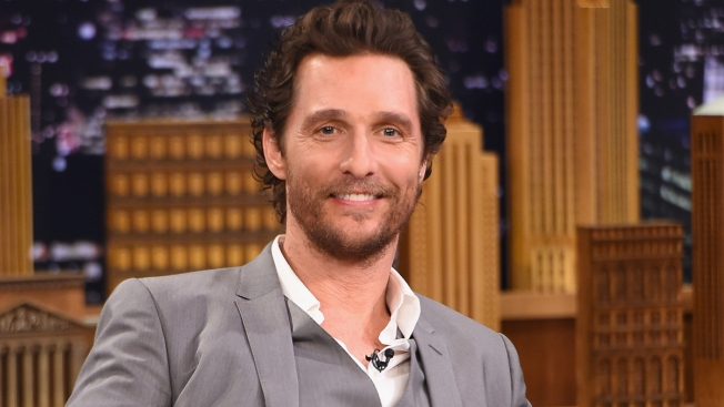 Matthew McConaughey Gives Back to First Responders in Texas Visit