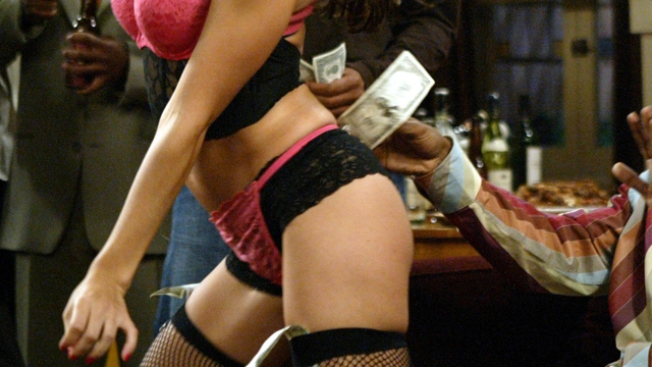 L.A. Stripper Subs for Student at H.S. Reunion