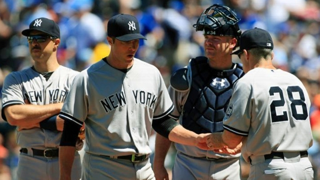 Yanks Shut Down by Royals, 6-0