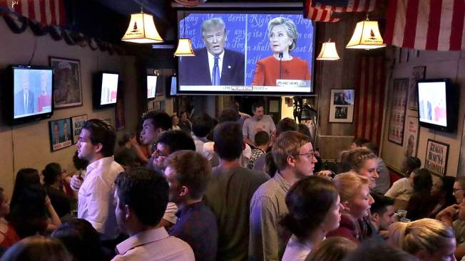 Trump-Clinton Debate Sets Record With 84 Million Viewers